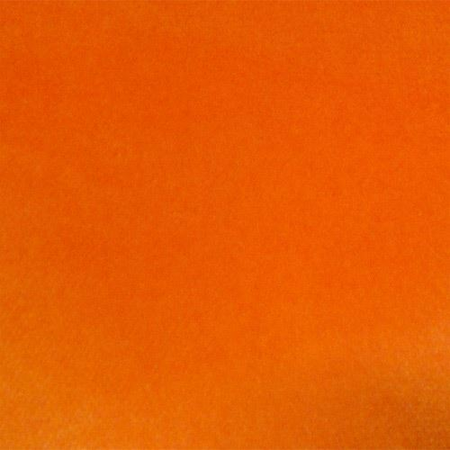 Orange cotton velvet